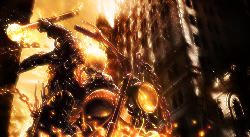 Johnny Blaze by colorad0kid
