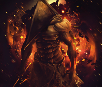 Pyramid Head by colorad0kid
