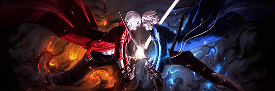 dante vs vergil by colorad0kid