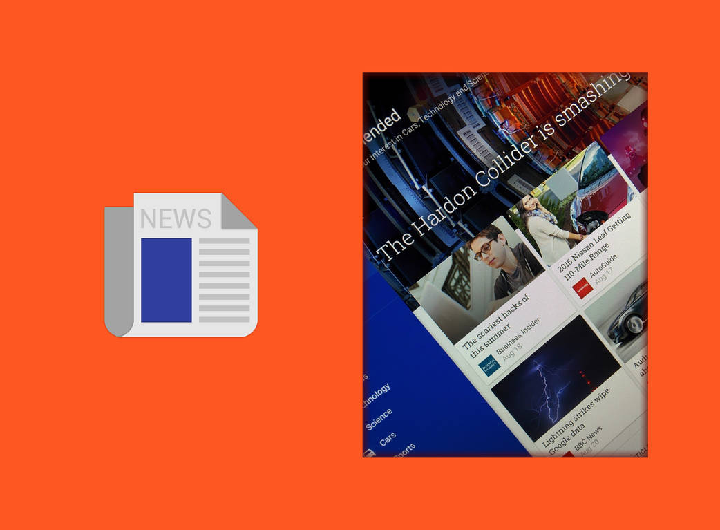 Windows 10 Google: News App (Teaser 3) by wwsalmon on DeviantArt