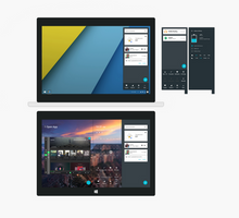 Windows 10 Google: Action Center Demo