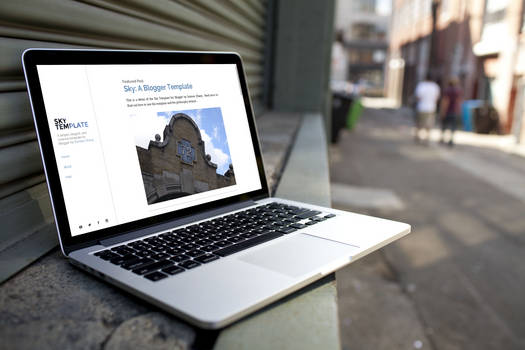 Sky: A Blogger Template