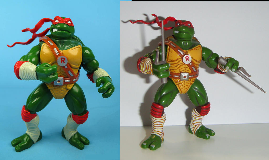 The Ninja Turtles Next Mutation Toys : Ninja turtles raphael next mutation custom by grayfox on