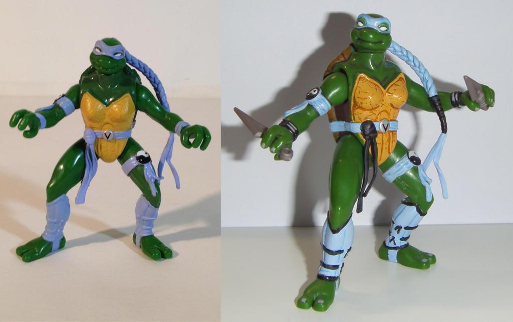 ninja turtles Venus next mutation Custom by grayfox78