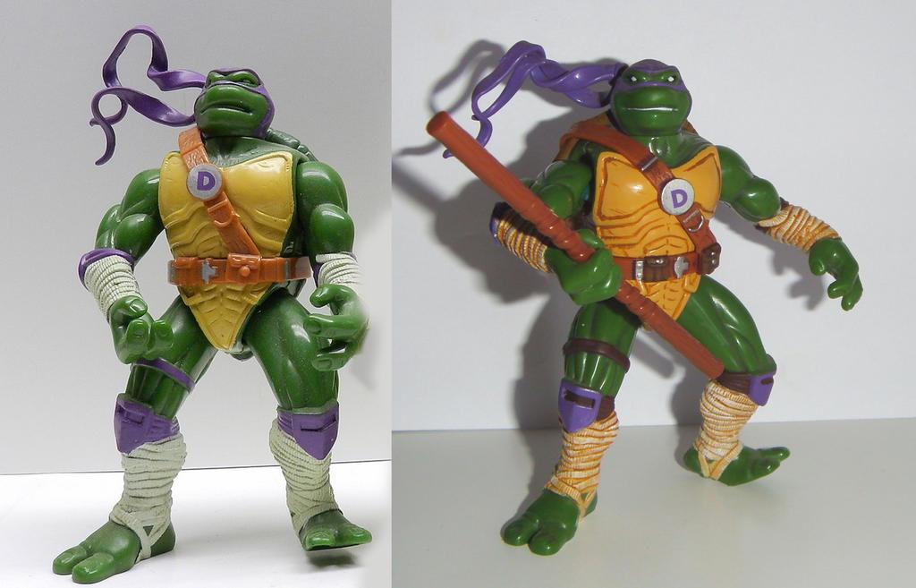 ninja turtles Donatello next mutation Custom by grayfox78