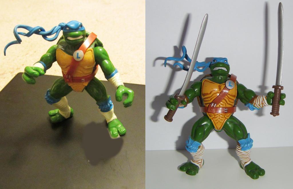 ninja turtles Leonardo next mutation Custom by grayfox78