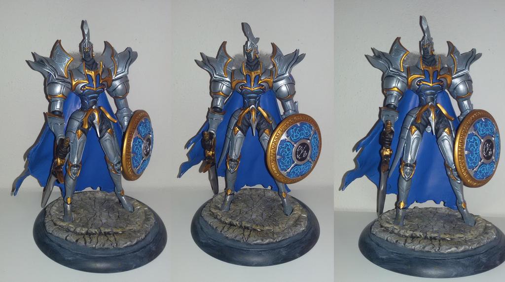 white knight chronicles whizel custom statue by grayfox78