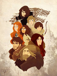 Dead Ned and the Starks