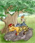 Naptime for the Lion Guard