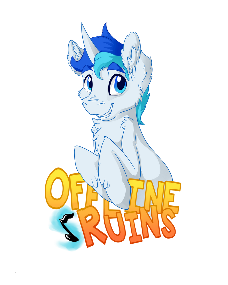 Commission - Offline Ruins Badge by VictoryDanceOfficial