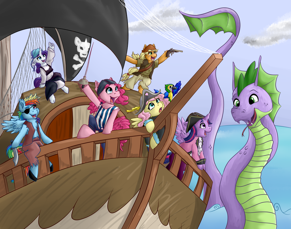 Ponies of the Canteribbean by VictoryDanceOfficial