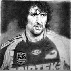 Nathan Hindmarsh WIP by KatersArt