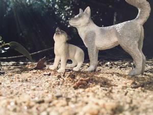 schleich wolf/husky custom