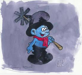 Smurfs: Sweepy Smurf