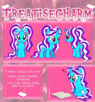 TreatiseCharm Filly Reference Sheet [Commission]