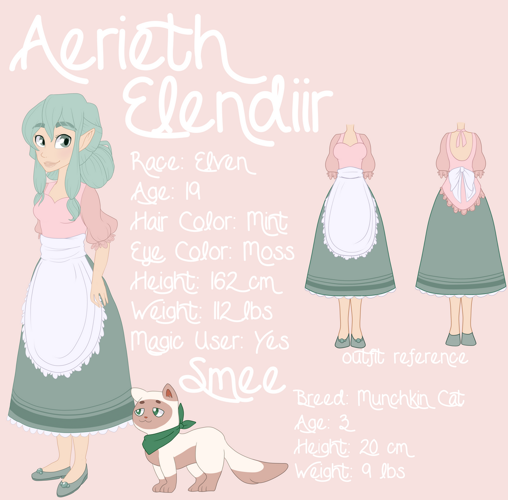Aerieth Elendiir [Official Design] by Maddymoiselle