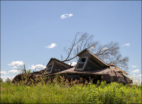 Abandoned Farm on Lower Huntington Road #5