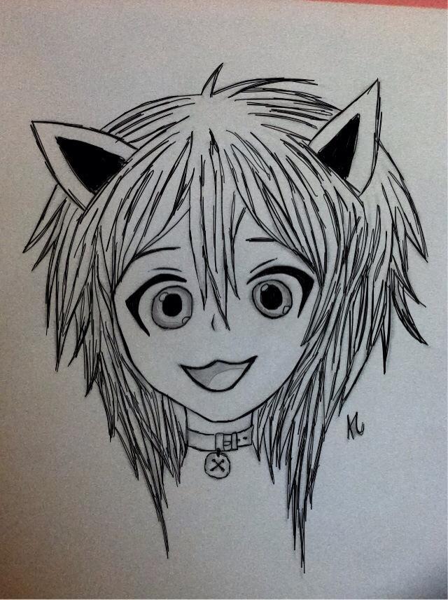 Kitty Girl by ieatzteddybearz