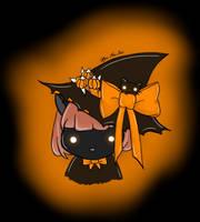 Witch Cat by ieatzteddybearz
