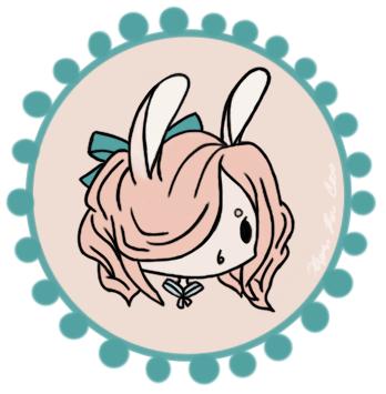 Bunny Badge~ by ieatzteddybearz