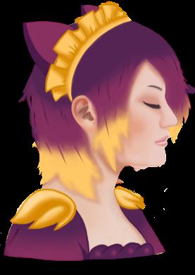 Sunset Orchid by ieatzteddybearz