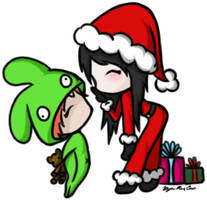 A Gaian Secret Santa by ieatzteddybearz