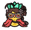 Pineapple cutie by ieatzteddybearz