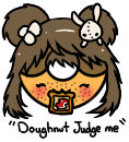 Doughnut Judge me!