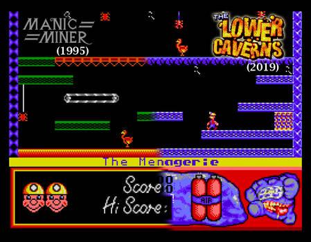 MM vs The Lower Caverns comparison #3