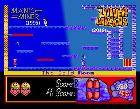 MM vs The Lower Caverns comparison #2
