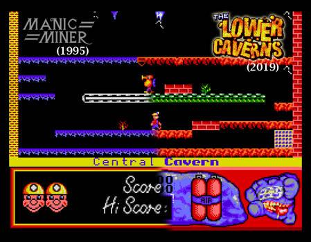 MM vs The Lower Caverns comparison #1