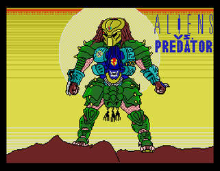 Aliens Vs Predator - The Arcade Game, Loading Scrn