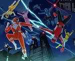 Power Rangers  Original to Current