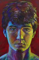 self portrait by Seth-Desmoen