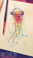 Jelly Fish by Anisha-Nagpurkar