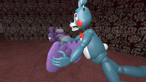 Bonnie tickled by Toy Bonnie 3 (request)