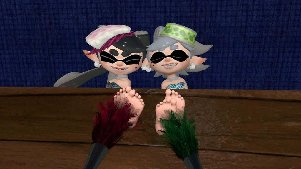 Callie And Marie Wallpaper: Callie And Marie Tickles 2 By Hectorlongshot On DeviantArt