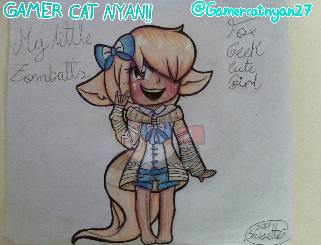 Fox Geek Cute Girl #NYAN!! by GaMeRCaTNYAN27