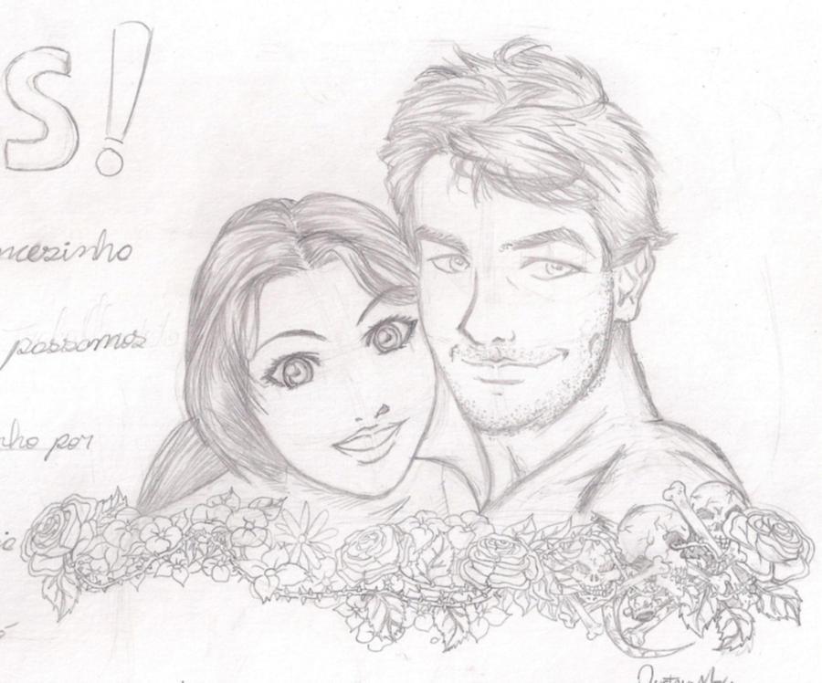 Desenho Que Fiz Para Minha Namorada By Eijinet On DeviantArt