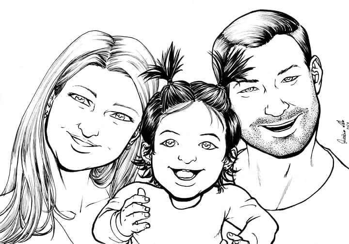 Douglas e familia by Eijinet