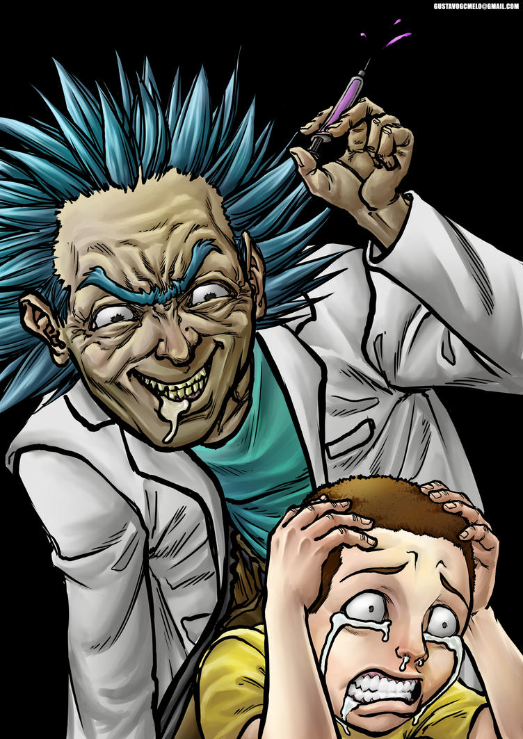 Rick and Morty by Eijinet