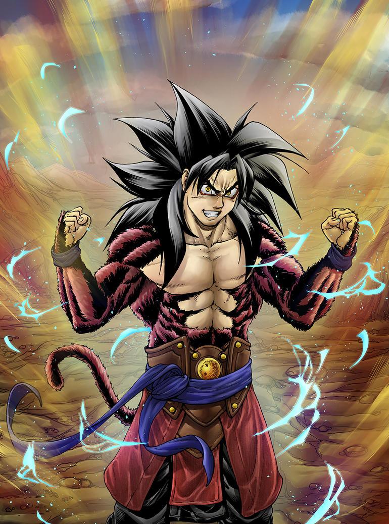 Goku Ssj4 DBHeroes by Eijinet