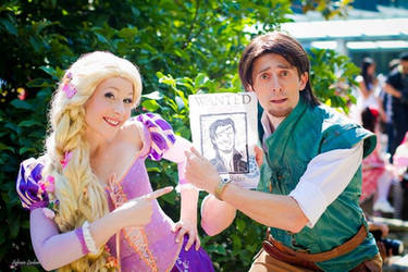 Tangled - Flynn and Rapunzel by Dariocosplay