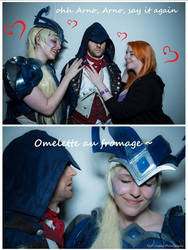 Arno Dorian meme - Assassin's Creed Unity by Dariocosplay