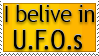 I belive in U.F.O.s Stamp by SeanFletcher