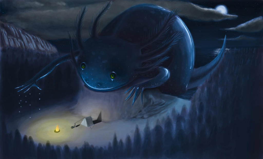 Painting creatures with Bobby Chiu Assignment 7 by spiderman-mx