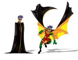 Tim Drake - Robin by luishenriquerc