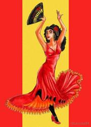 La encantadora de Espana by Larocka84