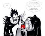 Ryuk and the poisoned apple