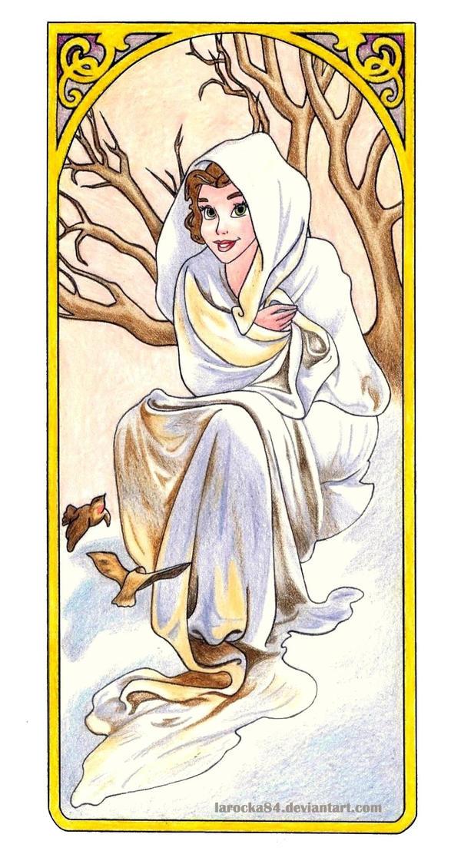 belle muchas winter by larocka84 on deviantart